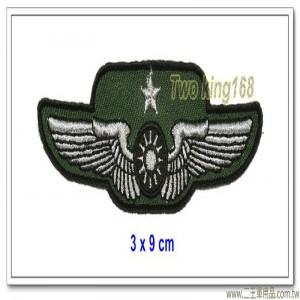 空軍士官督導長胸章-少將(布質) #士官督導長徽 #督導長榮譽徽【空軍13-3】