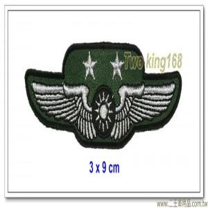 空軍士官督導長胸章-中將(布質) #士官督導長徽 #督導長榮譽徽【空軍13-2】
