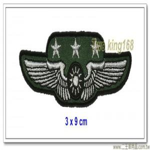 空軍士官督導長胸章-上將(布質) #士官督導長徽 #督導長榮譽徽【空軍13-1】