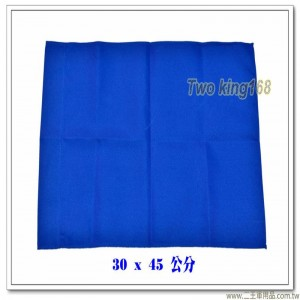 藍色發令旗(無字)(30x45公分)(另有黃色、紅色、白色) #軍用四角旗 #砲長旗