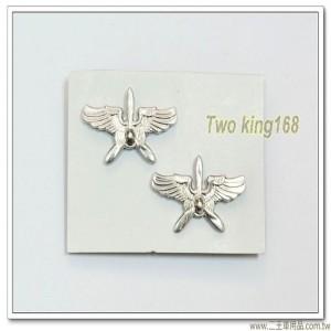 空軍領章(鋁質)(空軍飛鷹兵科)(一付2個)
