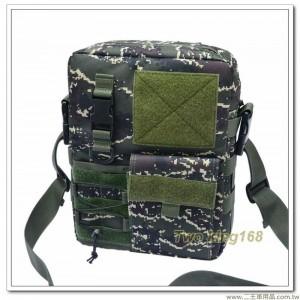 海軍陸戰隊數位虎斑迷彩戰術公文袋 #側背包 #摸魚袋