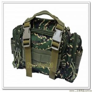 海軍陸戰隊數位虎斑戰術腰包(可肩背)