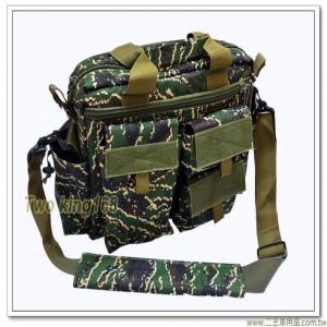 海軍陸戰隊數位虎斑參謀袋(可裝17吋筆電)(戰地記者包)