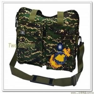 海軍陸戰隊數位虎斑頭盔袋(中型)(尼龍防水布)