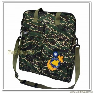 海軍陸戰隊數位虎斑頭盔袋(大型)(尼龍防水布)