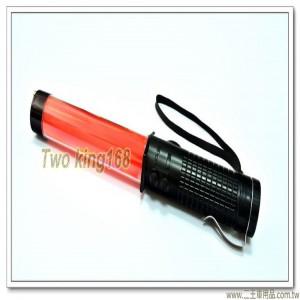 3段式紅色LED交通指揮棒(有哨音)(附贈電池)【E68-4】
