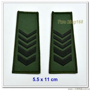 數位迷彩夾克肩章-一等長(海軍陸戰隊/空軍通用)
