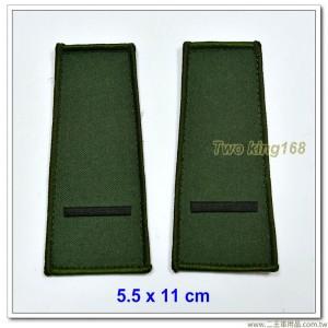數位迷彩夾克肩章-少尉(海軍陸戰隊/空軍通用)