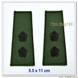 數位迷彩夾克肩章-中校(海軍陸戰隊/空軍通用)