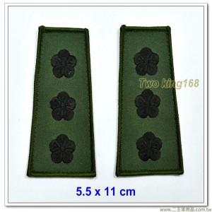 數位迷彩夾克肩章-上校(海軍陸戰隊/空軍通用)