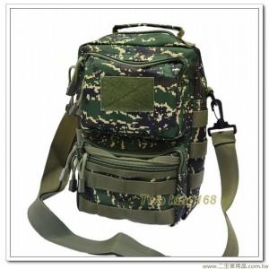 海軍陸戰隊數位虎斑側背包(防水布材質)(中)