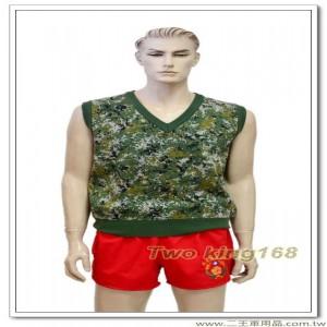 國軍數位迷彩羊毛背心(加厚型)