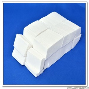 新式擦槍布(白色) #武器保養布 #通槍布 【3X6公分X900片】