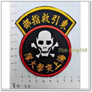 東引救指部-海上突擊大隊-東引反共救國軍臂章-80元【D9】
