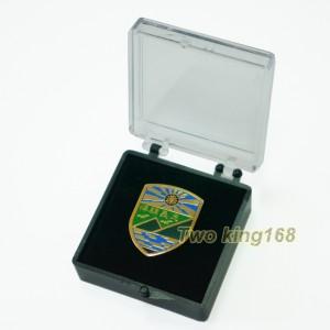 東引反共救國軍紀念章(銅質)(含盒子)100元