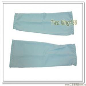 藍色冰絲防曬袖套 #涼感袖套