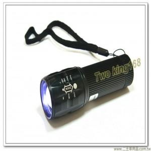 10W LED伸縮聚焦手電筒(附電池)【EDS-G639】
