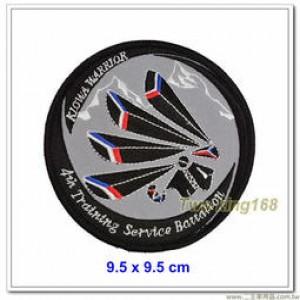 陸軍航空飛行訓練指揮部教勤四營臂章 #陸航臂章【4-23-2】