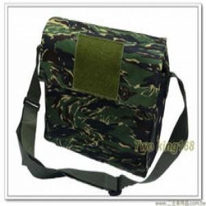 海軍陸戰隊虎斑迷彩乾糧袋(鐵扣)(布質)