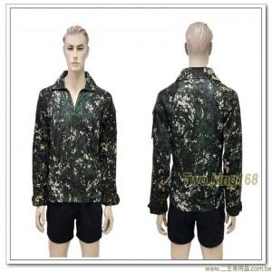 海軍陸戰隊數位虎斑迷彩戰鬥服透氣青蛙裝