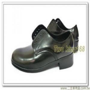 霧面皮鞋(木跟)(警專訓練用) #小皮鞋 #軍便服皮鞋