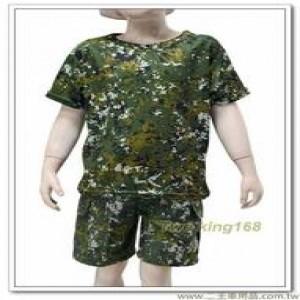 國軍數位迷彩童裝(套裝) ★兒童迷彩裝