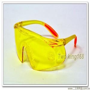 多功能軟墊型太陽眼鏡(黃色鏡片)