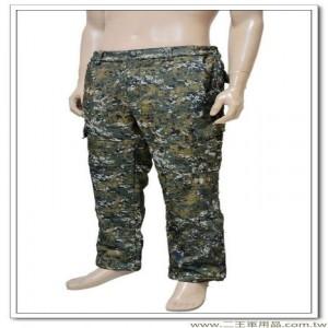 國軍數位迷彩軟殼長褲