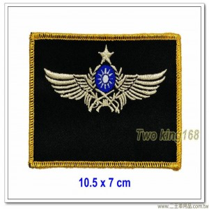 陸航指揮級飛行胸章(星星) ★陸軍航空飛行訓練指揮部