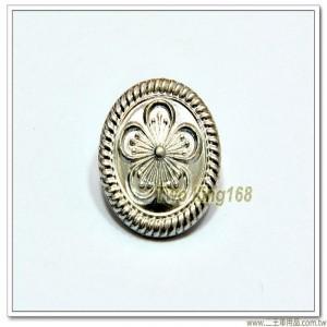義警用制服金屬鈕扣 ★警察鈕扣(鋁質銀色)(中)