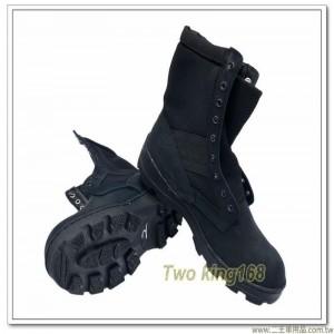 麂皮戰鬥靴(黑色)(憲兵特勤隊用)