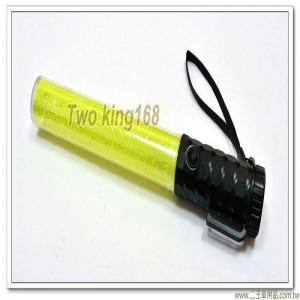 超亮螢光交管棒(30公分網狀六段LED)(含電池)【F18】