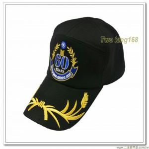 陸軍士官學校紀念帽(士校帽)(金蔥繡線)(60週年紀念帽)(陸軍專科學校)