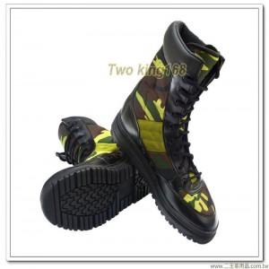 新訓用迷彩膠鞋 ★907迷彩長筒膠鞋