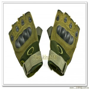 國軍個人裝備戰術手套(半指)(防滑碳纖維)