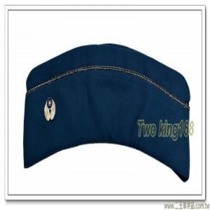 空軍軍官船型帽(女) (有徽)