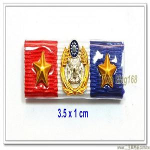 二星海軍陸戰隊榮譽徽(士官10年)(不含架) ★年資徽【m2-2】
