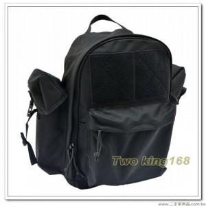 黑色後背包(鐵氟龍材質)