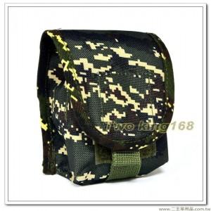海軍陸戰隊數位虎斑迷彩戰術手榴彈袋(防水尼龍) ★戰鬥個裝