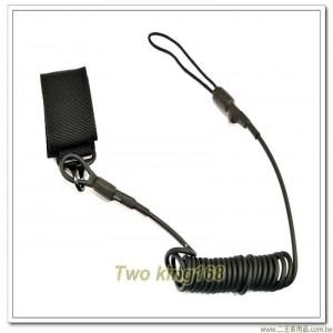 J-TECH戰術手槍繩(3.5mm)(鋼絲蕊) ★手槍槍繩 ★防搶槍繩 ★戰鬥個裝