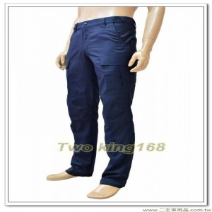 台灣製造新式警察制服長褲(深藍色)(吸濕排汗) ★警察勤務褲