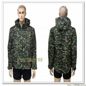 防水透氣海軍陸戰隊數位虎斑迷彩外套(可拆帽) ★軟殼衣★鯊魚皮