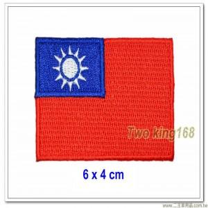 中華民國國旗別針(布質)