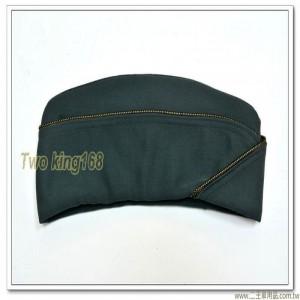 新式-陸軍士官船型帽(女)(黑金邊)