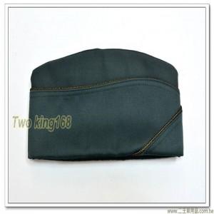新式-陸軍士官船型帽(男)(黑金邊)