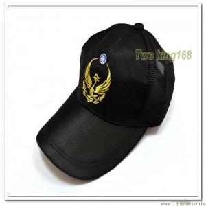 消防排汗小帽(金蔥線)(火鳳凰)(黑色尼龍)【1-14-2】