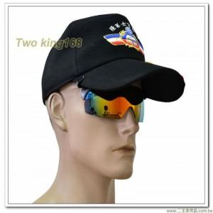 炫光帽夾式太陽眼鏡