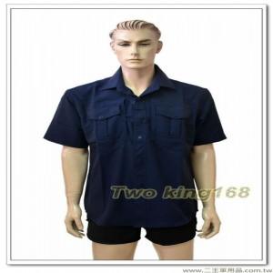 195新式警察制服(短袖上衣)(深藍色)