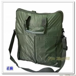 軍官專用飛行頭盔袋(綠)(大型)(尼龍防水材質)